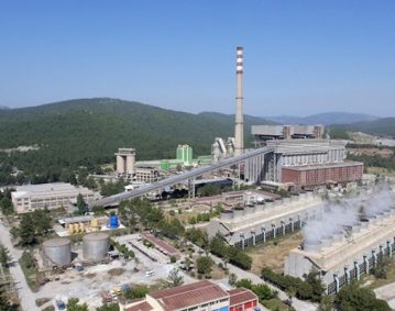 power station complex