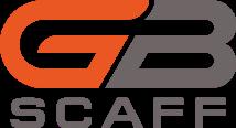 logo of gb scaff to slider